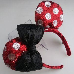 Minnie Mouse Authentic Disney Sequin Headband